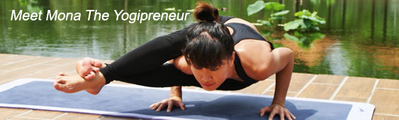 Meet Mona the Yogipreneur