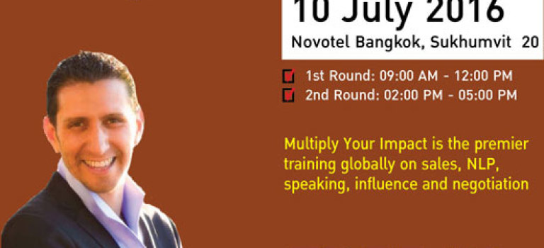 "Free!!! Seminar on ""MULTIPLY YOUR IMPACT"""