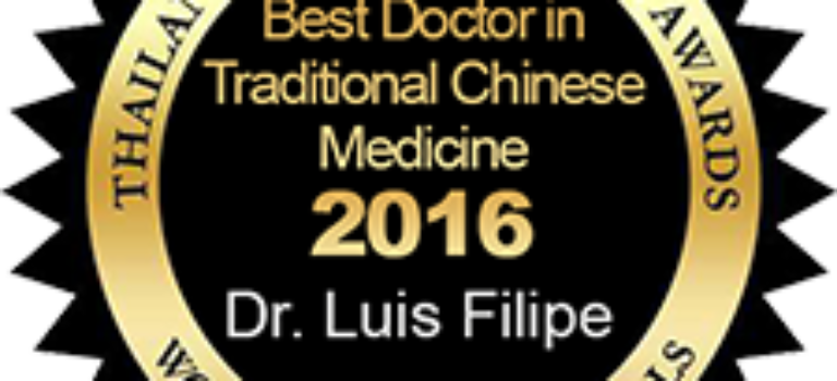 Best Doctor in Chinese Traditional Medicine – Dr. Luis Filipee