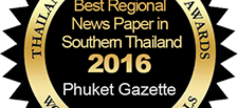 Best Regional News Paper in Southern – Phuket Gazette