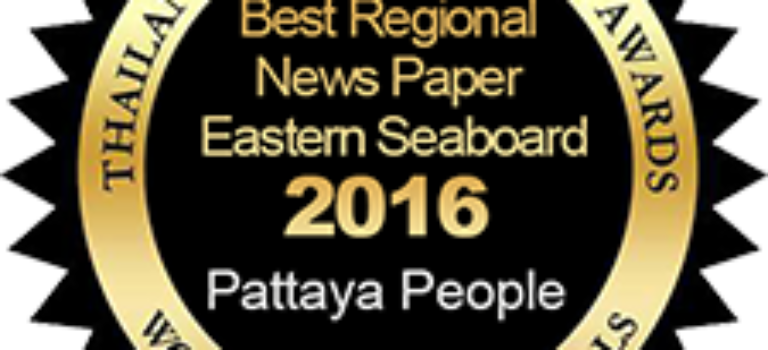 Best Regional News Paper Eastern Seaboard – Pattaya People