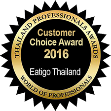 Customer Choice Award - Eatigo Thailand