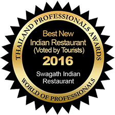 Best New Indian Restaurant (Voted by Tourists) – Swagath Indian Restaurant