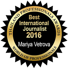 Best International Journalist – Mariya Vetrova