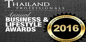Thailand Professionals Business & Lifestyle Awards 2016