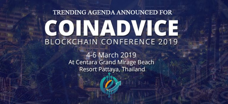 Trending Agenda Announced for CoinAdvice Blockchain Conference 2019