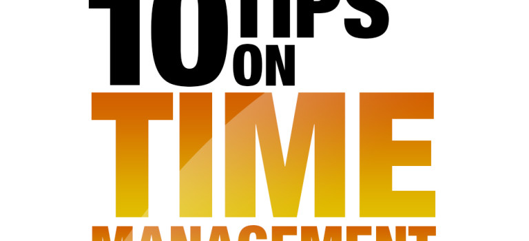 10 Tips on Time Management