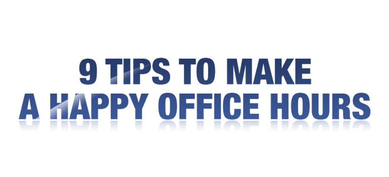 9 Tips to Make a Happy Office Hours