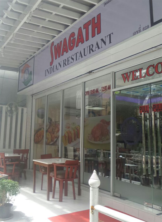 Swagath Indian Restaurant In Bangkok