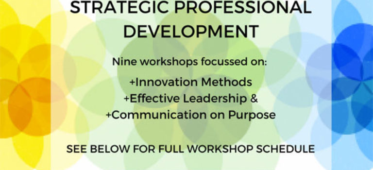 Strategic Professional Development workshops